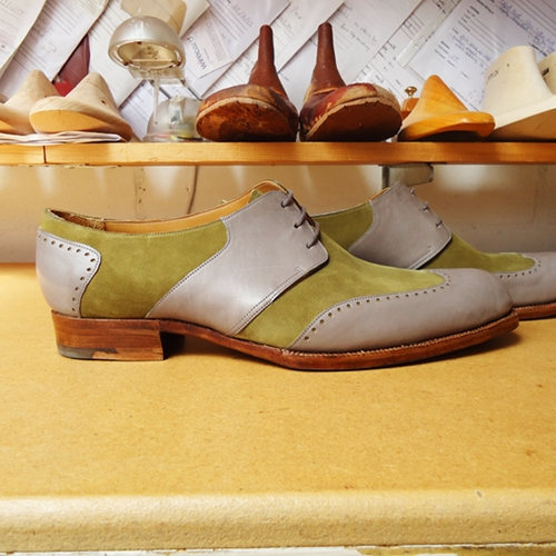 side Carreducker Bespoke Shoes