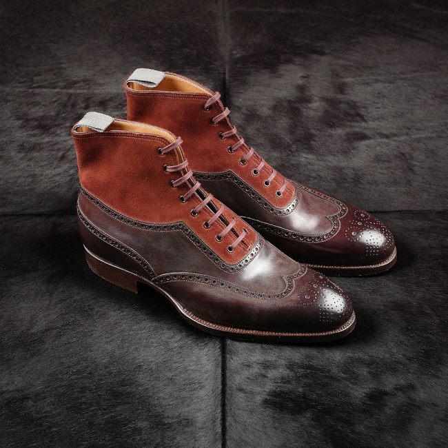 Saint Crispins boots that are on sale now at Leatherfoot