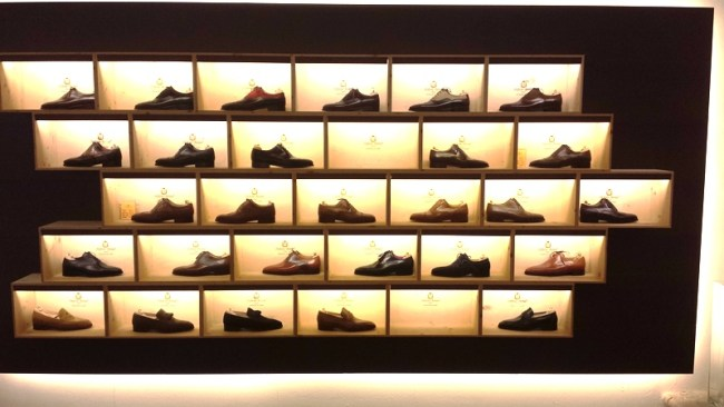 another nice display of shoes
