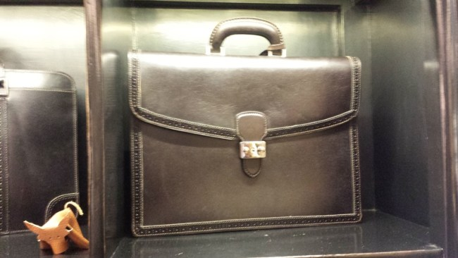 probably the nice briefcase that I have ever seen....love it, a lot!!