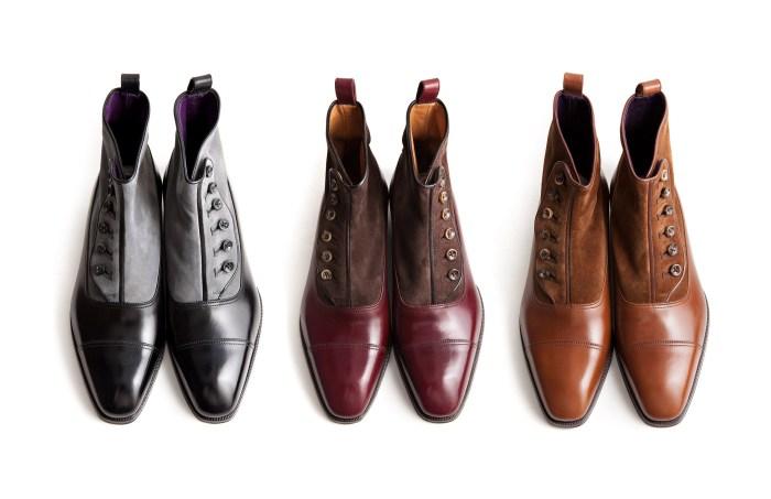 Enzo Bonafe Button Boots