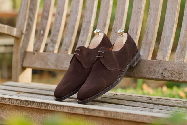 The Fremont II in Bitter Chocolate Suede