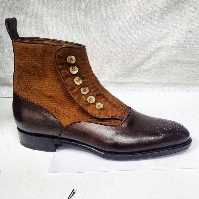 J.FitzPatrick Button Boots
