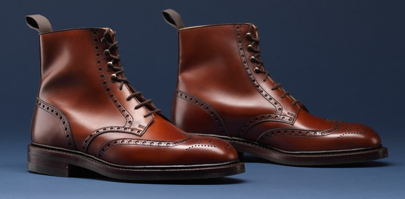 3.Skye Chestnut Calf - Crockett & Jones AW15