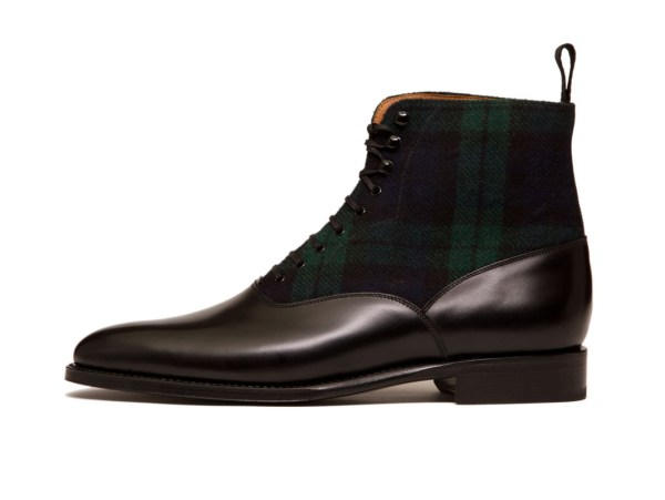 j-fitzpatrick-footwear-studio-wedgewood-black-calf-black-watch-tartan-side