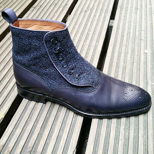 J.FitzPatrick Button Boot