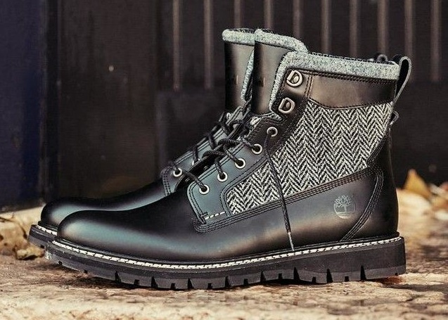 Timberland x Harris Tweed. Timberland Britton Hill boot
