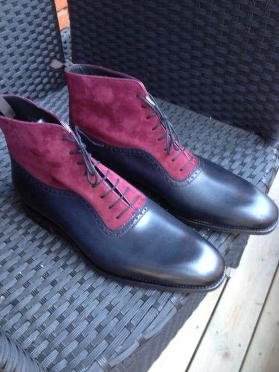 Carmina MTO boots made for Skoaktiebolaget