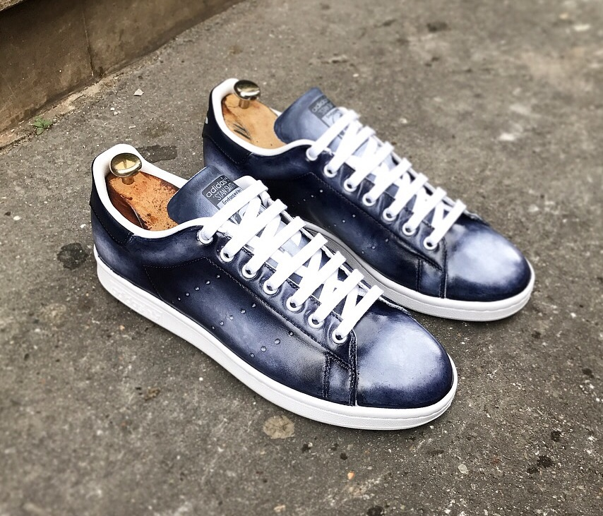 best website 8aebf 4a1db Adidas Stan Smith – Patina Style! — Les Cireurs Parisiens