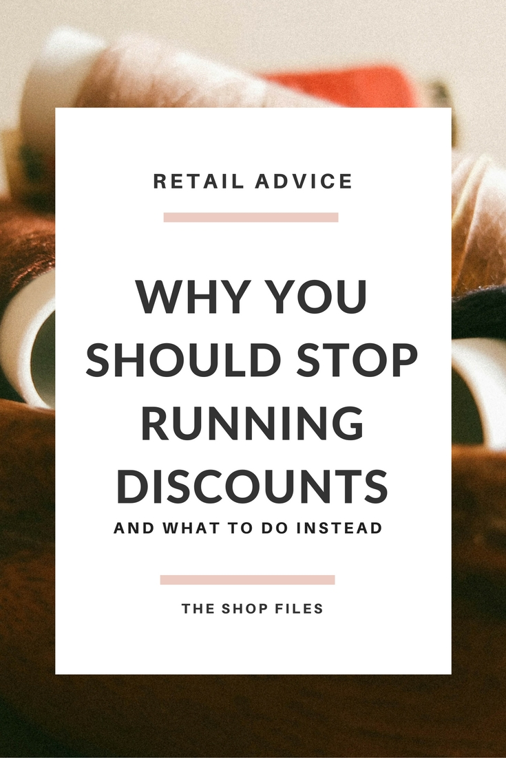 Why You Should Stop Offering DIscounts, Alternatives to Discounting Your Product