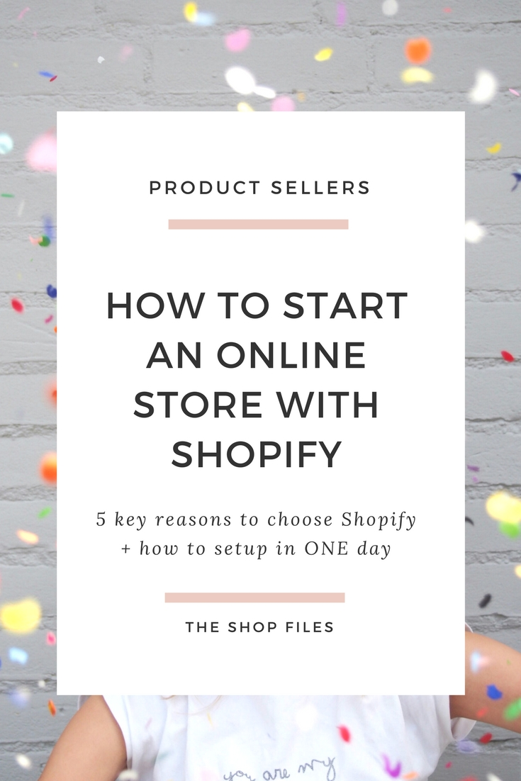 How to Start an Online Store with Shopify- Tips on setting up shopify store - set up shopify tutorial - how to start an online boutique on Shopify