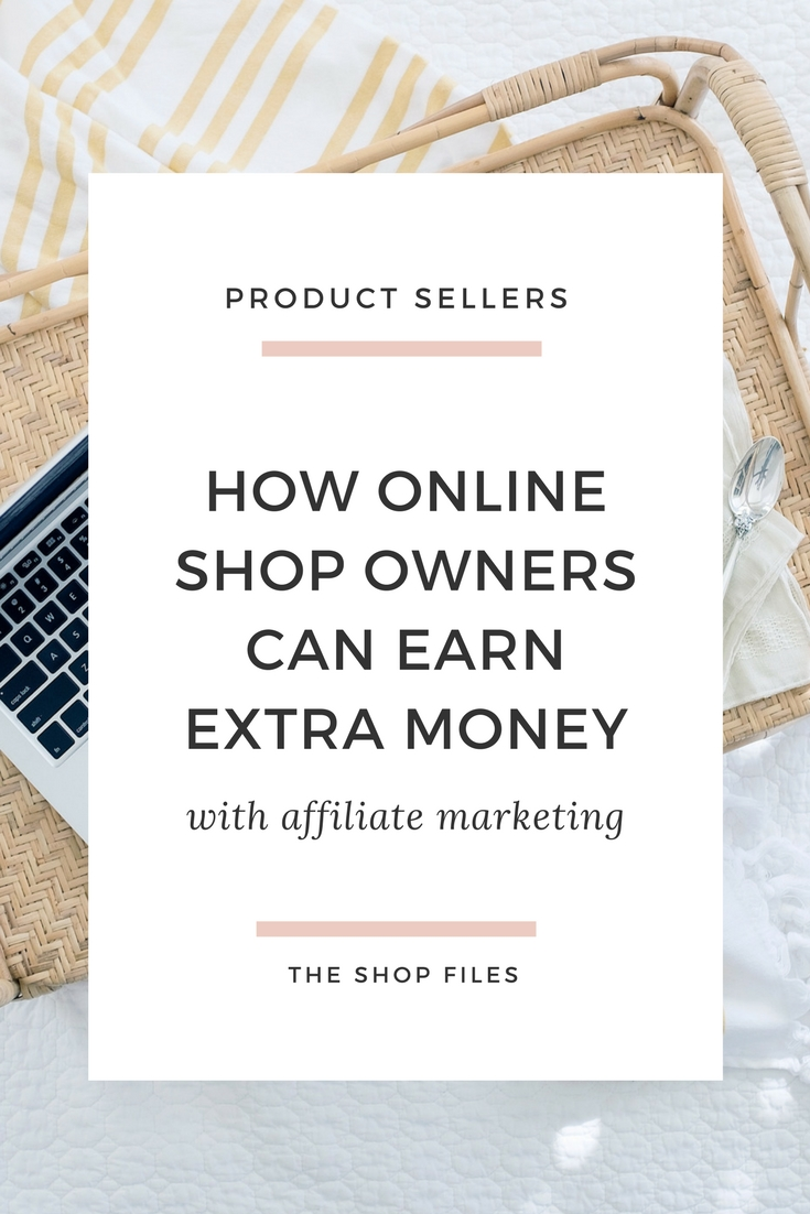 How online shop owners can earn extra money with affiliate marketing AND still be providing great value to their customers! Affiliate marketing for online shops