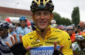 Lance Armstrong satire