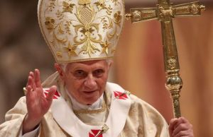 Pope Benedict satire