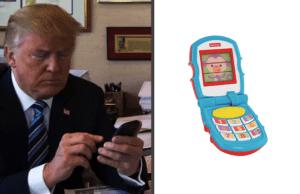 trump-phone toy phone