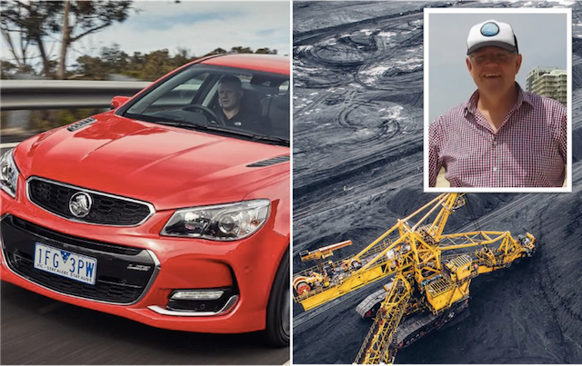 Morrison Agrees To Bail Out Holden If They Re-Open As An Open-Cut Coal Mine