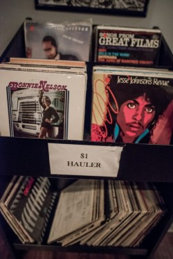 $1 Rack at Bowman's Vinyl