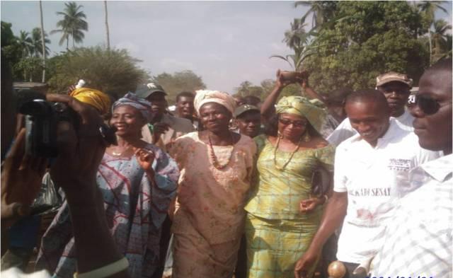 KADI SESAY ELECTION CAMPAIGN 2010 – MOYAMBA
