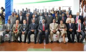 PERSIDENT KOROMA AT AFRICAN FINANCE MEET