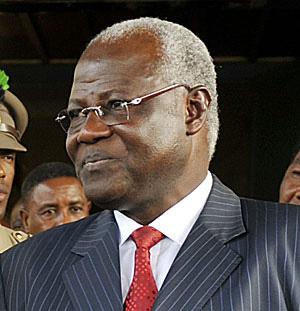 President Koroma in deal with arthur porter