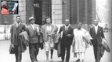 THE KRIO DELEGATION THAT WENT TO LONDON FOR INDEPENDENCE TALKS - 1960