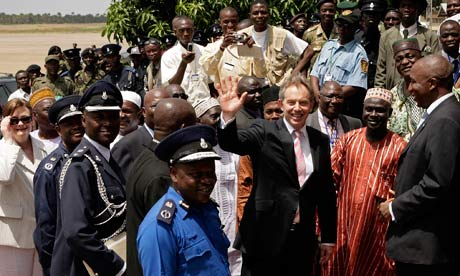 TONY LAIR IN SALONE AS PM