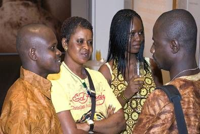 Young Sierra Leoneans meets Obama in USA