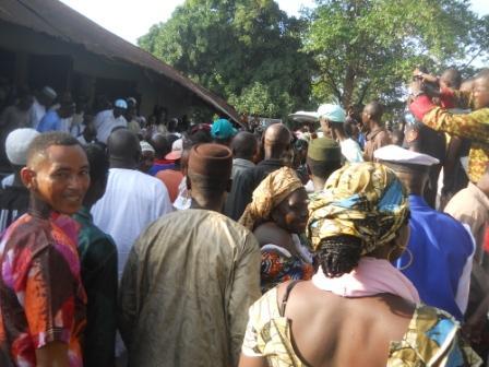 kadi sesay warmly received in portloko nov 2011