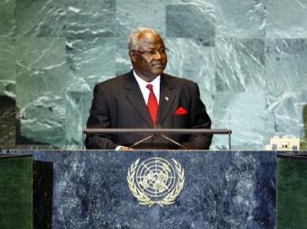 president koroma at Un sept 2011
