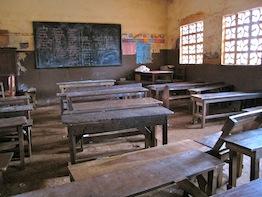 sierra leone classroom