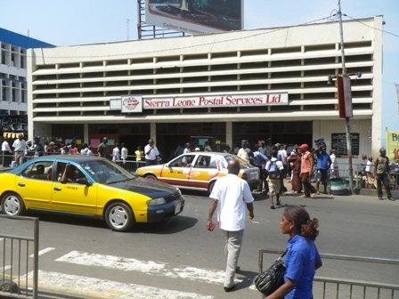 sierra leone post office freetown
