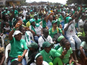 SLPP - Willberforce Village welcoms Maada Bio