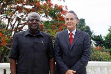 president koroma and schulunberg