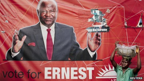 Ernest Koroma – elections 2012