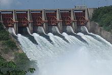 Ghana Akosombo Hydro Dam