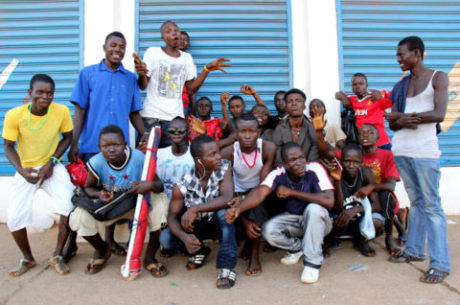 Freetown youths