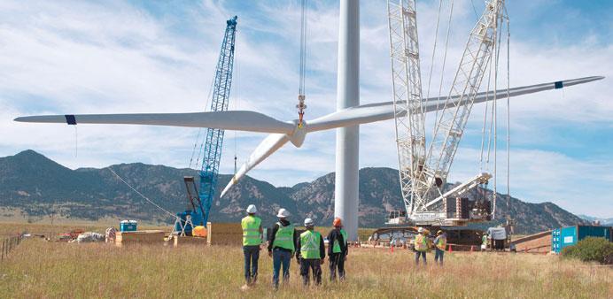 wind turbine in Tanzania