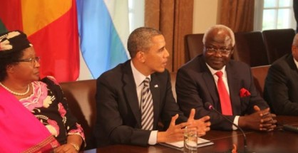 obama meets president koroma and other african leaders – 28 03 13