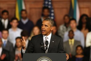 obama in south-africa