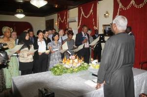 Koroma and his new citizens1