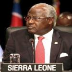 President Koroma - presidency in peril