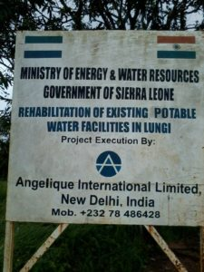 LUNGI water