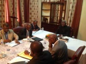 president koroma meeting opposition parties jan 2013