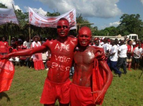 APC SUPPORTERS IN PUJEHUN – VOTE 2012