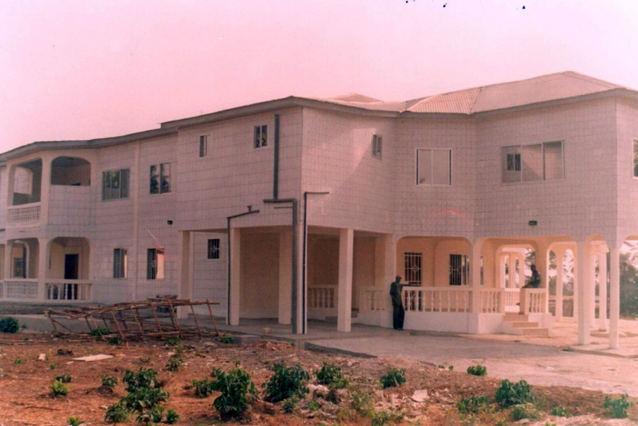president koroma building another mansion