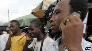 mobile phones in Africa