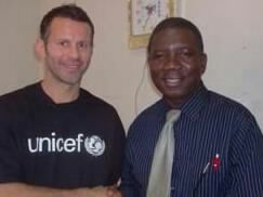 Dr Modupe Cole and Manchester United Ryan Giggs