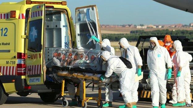 Ebola – spannish priest