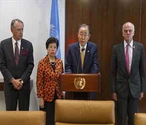 Ebola – Ban Ki Moon appeal