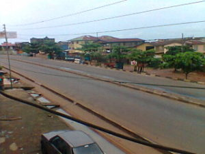 Ebola - streets of Freetown